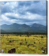 Mountain View After Rain Acrylic Print