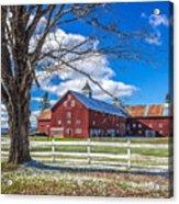 Mountain View Barn Acrylic Print