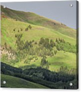 Mountain View From Gothic Road Acrylic Print