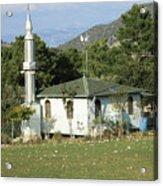 Mountain Village Mosque Acrylic Print