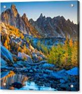 Mountainous Paradise Acrylic Print