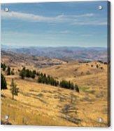 Mountainous Terrain In Central Oregon Acrylic Print