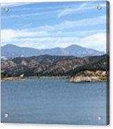 Mountainous View Acrylic Print