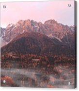 Mountains At Dawn Acrylic Print