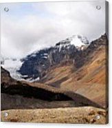 Mountains Clouds And Glaciers 2 Acrylic Print