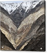 Mountains Of Ladakh Acrylic Print