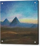 Mountains Of The Desert I Acrylic Print