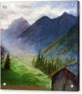 Mountains Acrylic Print