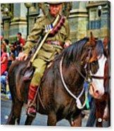 Mounted Infantry 2 Acrylic Print