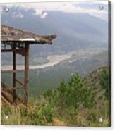 Mountian Lookout Acrylic Print