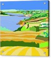 Mounts Bay Cornwall Acrylic Print