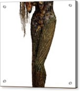 Mourning Moss A Sculpture By Adam Long Acrylic Print