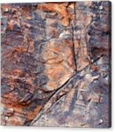 Mouse's Tank Canyon Wall Acrylic Print