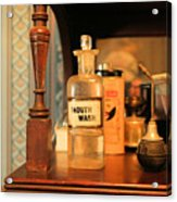 Mouth Wash In The Old Days Acrylic Print