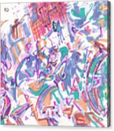 Movement In B Flat Acrylic Print
