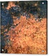 Movement Of Color I  Acrylic Print