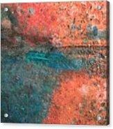 Movement Of Color II Acrylic Print