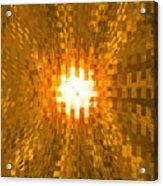 Moveonart Abstract Retro Light Action 2 Acrylic Print