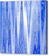 Moveonart Blue Dream Frequency Acrylic Print