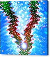 Moveonart Christmas 2009 Collection Victory Tree Acrylic Print