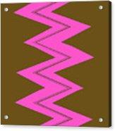 Moveonart Electricpink Acrylic Print