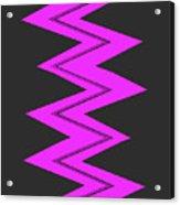 Moveonart Electricpurple Acrylic Print