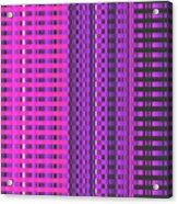 Moveonart Eye Scrapers Pink Acrylic Print