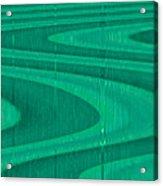 Moveonart Green Pathways 1 Acrylic Print
