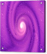 Moveonart Movement In Purple 2 Acrylic Print
