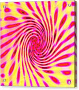 Moveonart Neon Twist 1 Acrylic Print