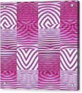 Moveonart New Future Texture 1 Acrylic Print