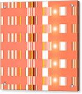 Moveonart Orange Interactive Spiritual Solutions Acrylic Print