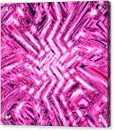 Moveonart Pink Shock Acrylic Print