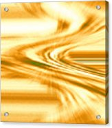 Moveonart They Say The Streets Are Paved With Gold Acrylic Print
