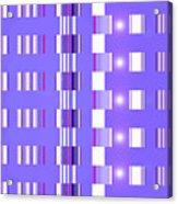Moveonart Violet Interactive Spiritual Solutions Acrylic Print