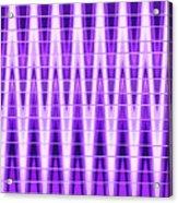 Moveonart Violet Vibes Acrylic Print
