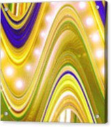 Moveonart Wave Of Enlightenment Four Acrylic Print
