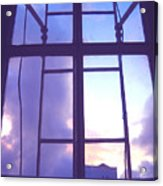 Moveonart Window Watching Series 5 Acrylic Print