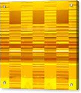Moveonart Yellow Program Six Acrylic Print