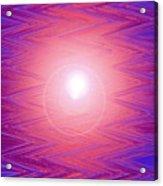 Moveonart Zig Zag Therapy Two Acrylic Print