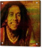 Movie Icons - Bob Marley I Acrylic Print
