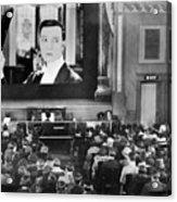 Movie Theater, 1920s Acrylic Print