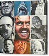 Movie Villians Acrylic Print