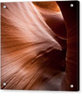 Moving Canyon Acrylic Print