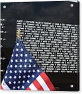 Moving Wall - Vietnam Memorial Acrylic Print