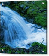 Moving Water Can Move Your Soul Acrylic Print