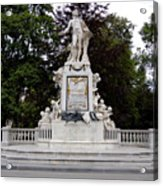 Mozart Vienna Austria Acrylic Print