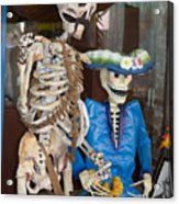 Mr And Mrs Death Acrylic Print