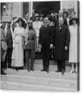 Mr. And Mrs. Winston Churchill Acrylic Print by Everett