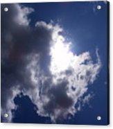 Mr Blue Sky Acrylic Print